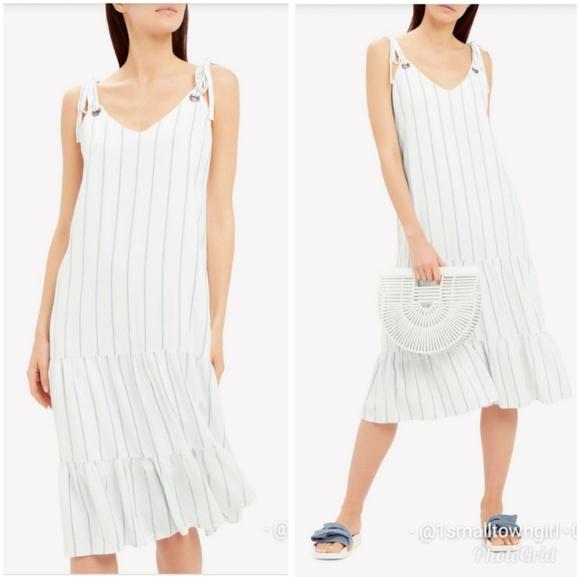 Rails Dresses & Skirts - Rails Anthropologie Ciel striped dress L NWT
